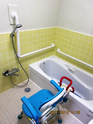 家庭的なお風呂です