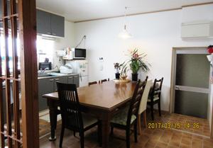 食堂 テーブルと椅子